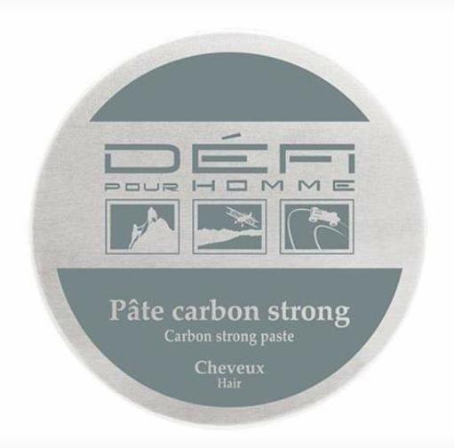 Gamme DEFI pour homme Pâte Carbon Flex soin pour cheveux et barbe