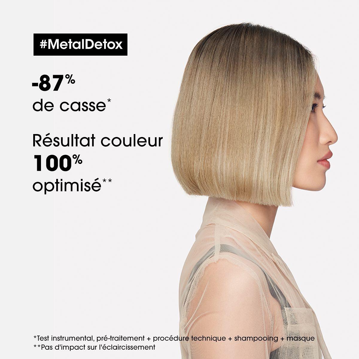Soin L'Oréal Metal Detox anti casse