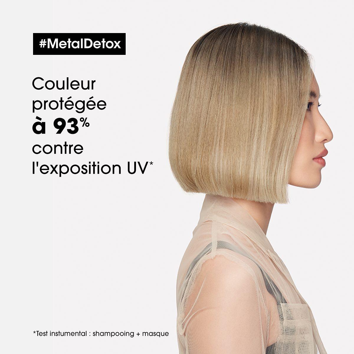 Soin Metal Detox de chez L'Oréal protection UV