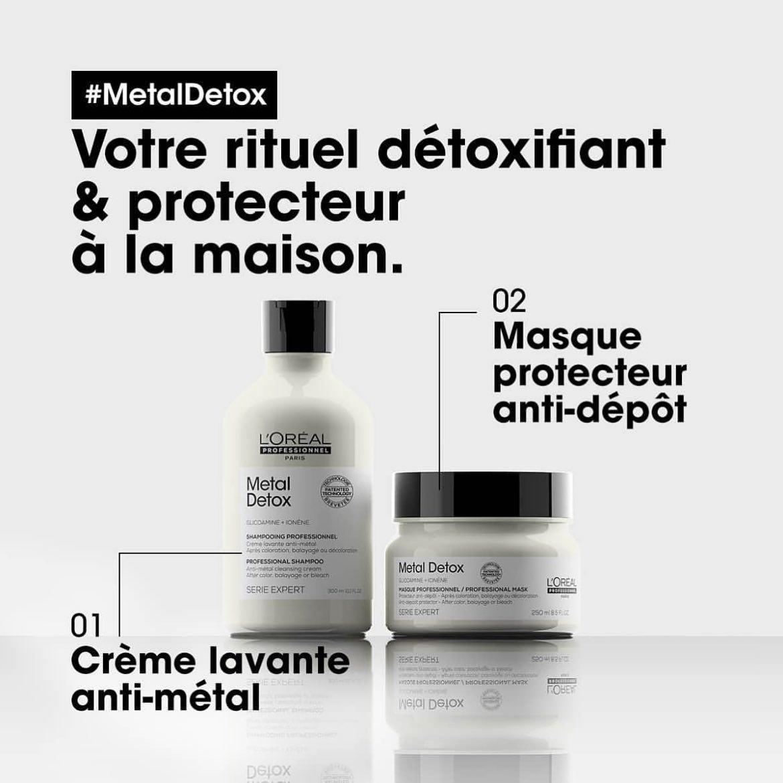 Soins L'Oréal MetalDetox détoxifiant